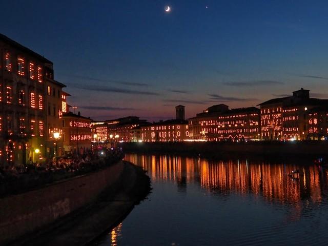 La Luminara di San Ranieri a Pisa, evento imperdibile del giugno pisano