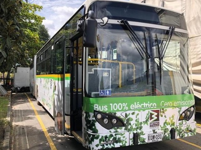 Autobus elettrici BYD: 64 nuovi bus a Medellín, Colombia