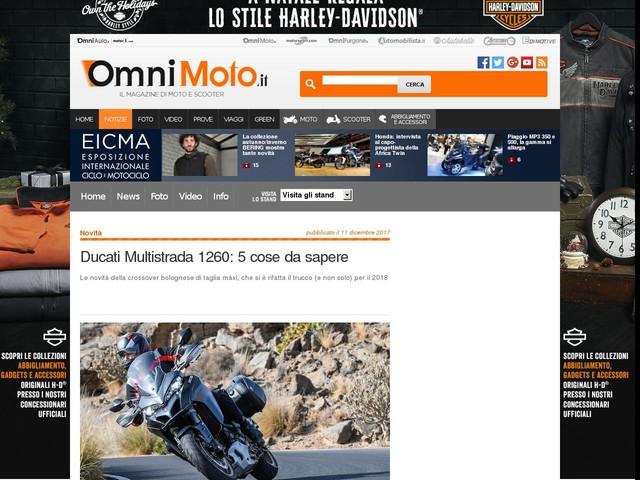 Ducati Multistrada 1260: 5 cose da sapere