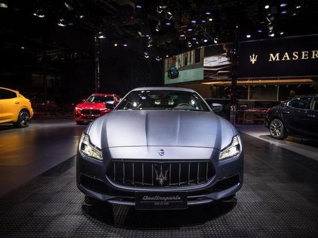 La Maserati GranLussoper il guru cinese dello stile
