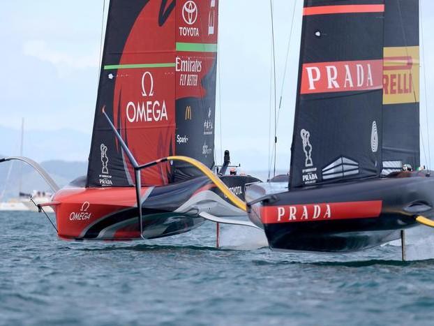 Luna Rossa, un altro KO: New Zealand va sul 6-3, rinviata la regata decisiva