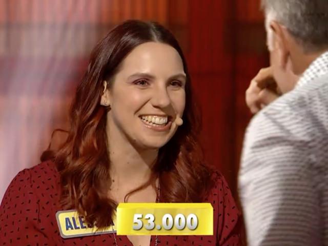 """""""Avanti un Altro"""", Alessia vince 53mila euro"""