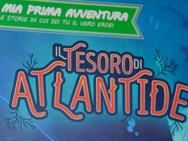 [Anteprima][Librogame] Il Tesoro di Atlantide