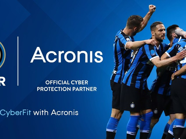 Partnership tra Acronis e FC Internazionale Milano