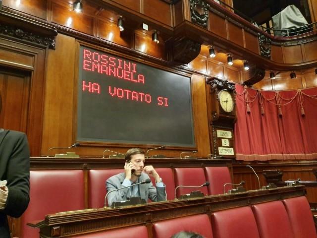 Rossini: «Incompresa, lascio il Patt ma resto in Parlamento»