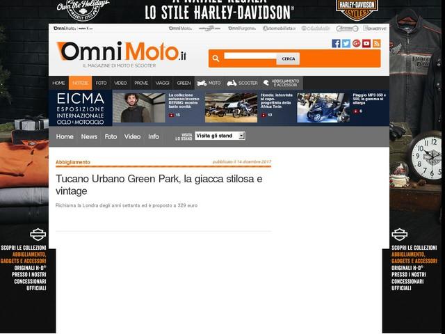 Tucano Urbano Green Park, la giacca stilosa e vintage