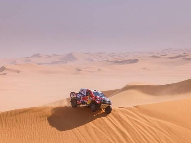 Dakar 2021, Stage 3 - Doppietta Toyota, Al-Attiyah recupera terreno