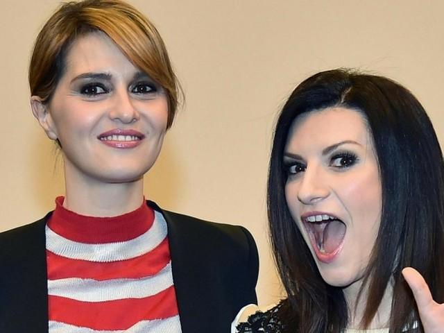 Laura Pausini e Paola Cortellesi in diretta Instagram il 1° aprile