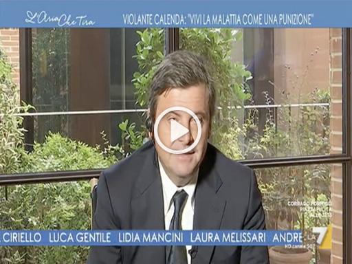 Carlo Calenda sulla malattia della moglie: «Spero di essere alla sua altezza»