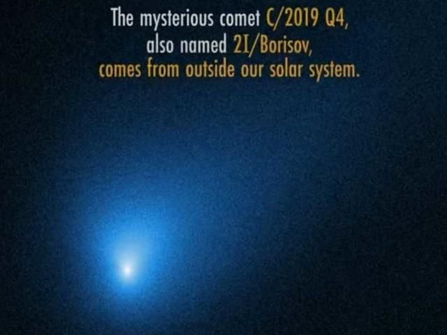 Il telescopio NASA Hubble riprende la cometa 2I/Borisov