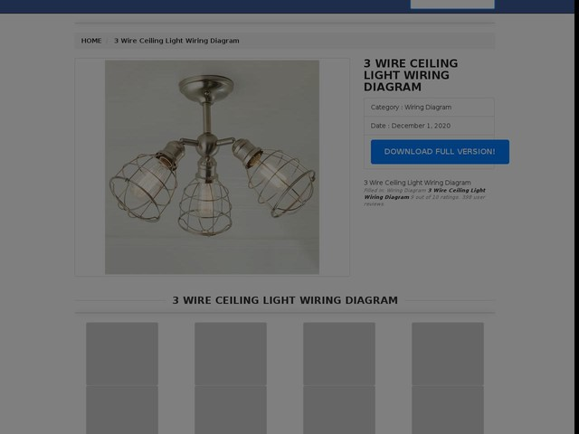 Wire Ceiling Light Wiring Diagram