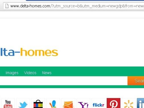 Come rimuovere Delta Homes da Chrome Mozilla Firefox Explorer