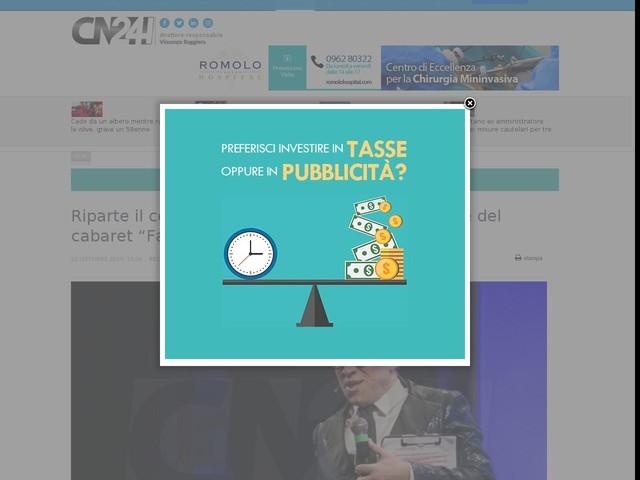"""Riparte il concorso artistico del Festival nazionale del cabaret """"Facce da bronzi"""""""