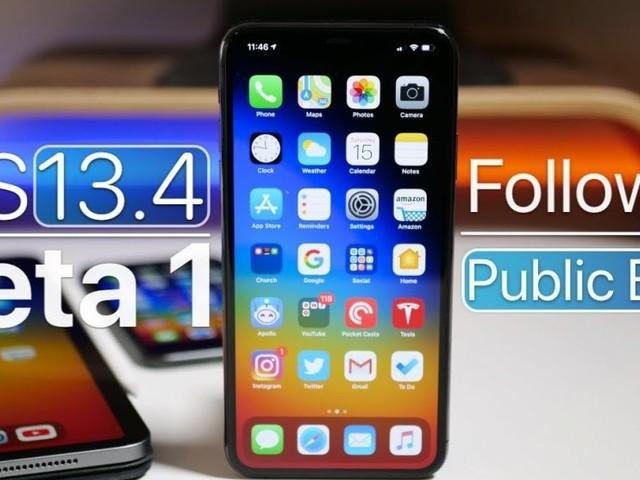 Probabile data e orario di uscita per iOS 13.4 su iPhone e iPad in Italia