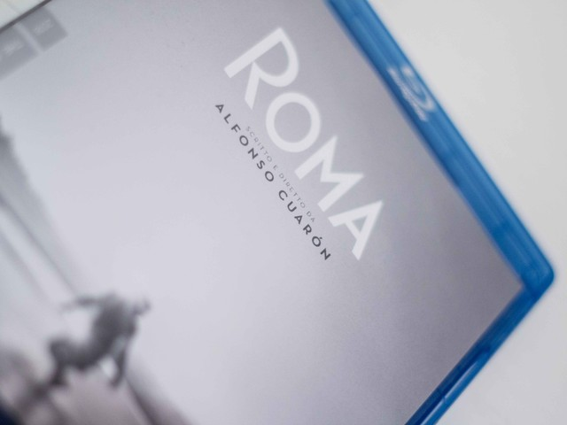 Roma Blu-ray Criterion Collection [Home video Unboxing]