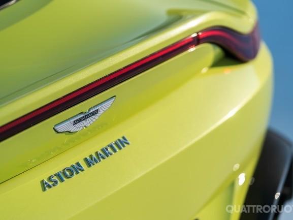 Aston Martin - Chiude l'anno con vendite in aumento