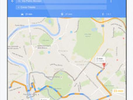 Google Maps - GPS e Ristoranti si aggiorna alla vers 5.28