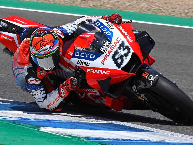 MotoGP, GP Emilia Romagna. Pecco Bagnaia, nuovo record e 1° posto nelle Libere 3 a Misano