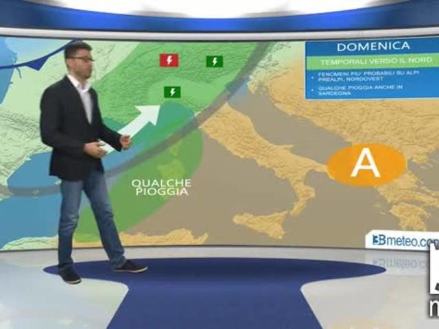 Meteo Italia - Avvio di settimana variabile e localmente piovoso al Sud