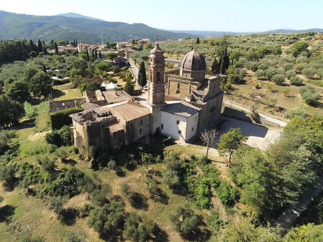 A Mongiovino aperto il cantiere per il restauro del complesso monumentale