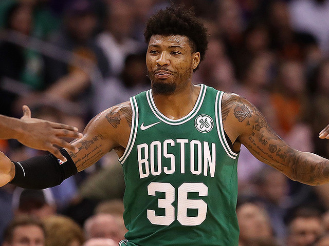 Marcus Smart Says He's Okay After Spraining Ankle Vs. Suns
