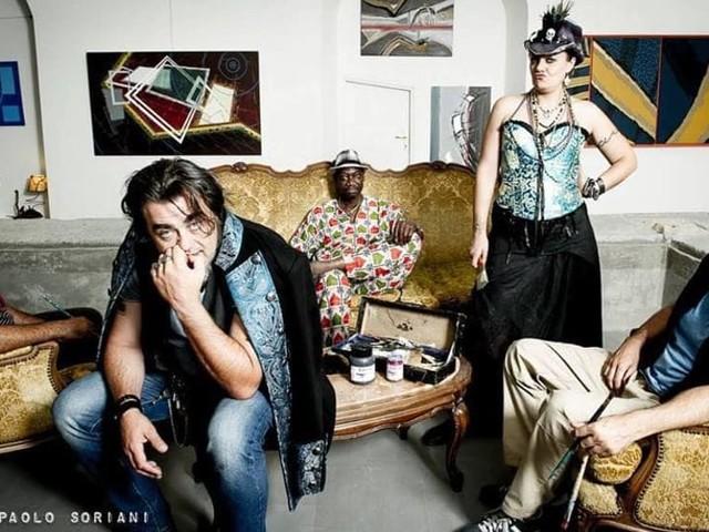 Max Lazzarin & The Lazy Pirates feat. Stephanie Ghizzoni