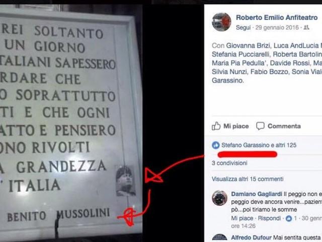 """L'assessore e il like a Mussolini. Il M5S: """"Deve dimettersi"""". E lui: """"Messo a mia insaputa"""""""