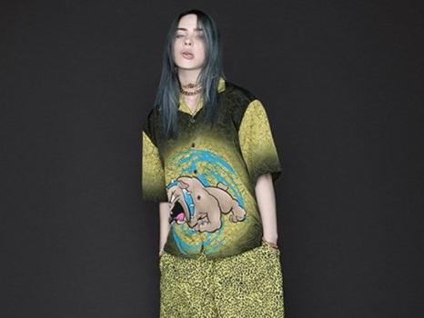 Billie Eilish lancia una linea di abbigliamento ispirata ai graffiti