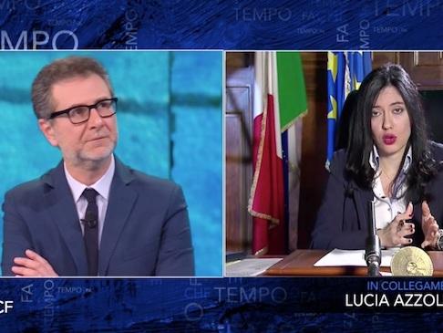 """Azzolina da Fazio: """"Tutti ammessi alla Maturità, ma non promossi. In terza media esame con elaborato"""""""