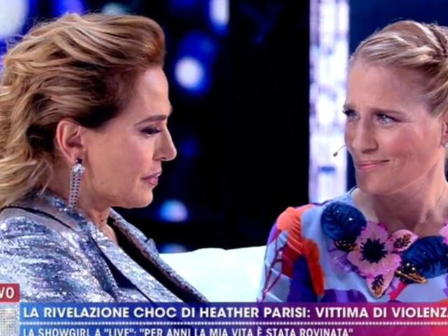 'Live – Non è la D'Urso', Heather Parisi confessa in lacrime: 'Sono stata vittima di violenza', dettagli choc