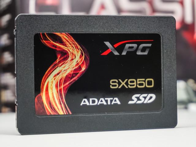 Test SSD Adata XPG SX950