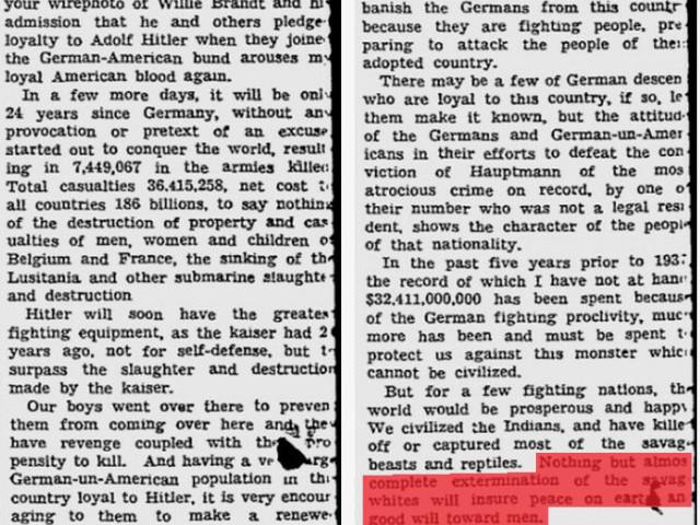 """""""Germany Must Perish!"""" Il progetto sionista, giudaico, americano, genocida di smembramento della Germania e del popolo tedesco. 1941"""