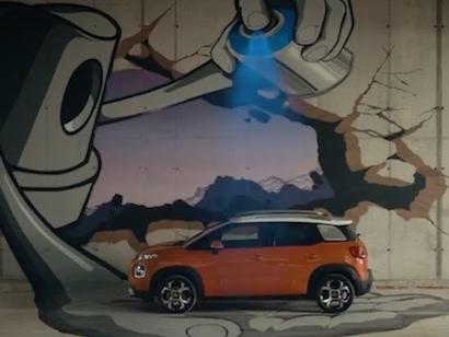 La canzone della pubblicità Citroen C3 Aircross 2017