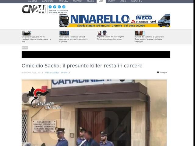 Omicidio Sacko: il presunto killer resta in carcere