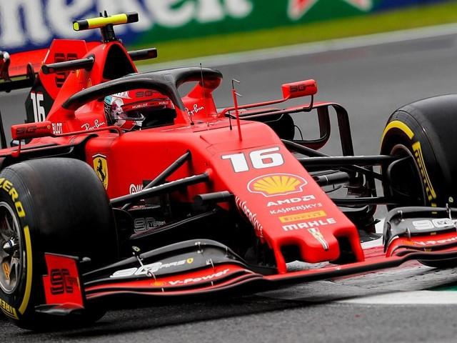 F.1, GP d'Italia - Leclerc il più veloce nelle Libere 1