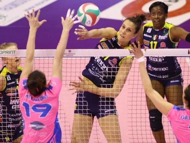 Semifinali donne, gara-2 Conegliano bissa con Monza