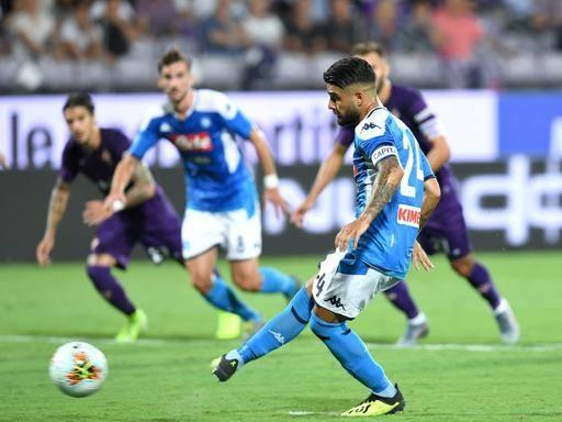 Napoli, goleada al Franchi: Fiorentina battuta 3-4