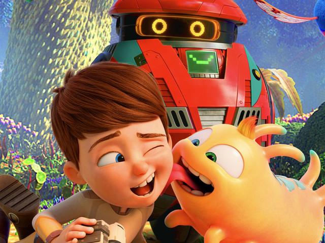 A spasso con Willy poster italiano del nuovo film d'animazione per bambini