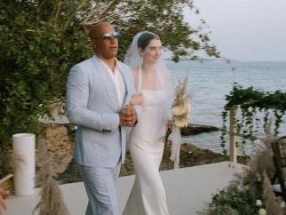 La figlia di Paul Walker si sposa e Vin Diesel l'accompagna all'altare