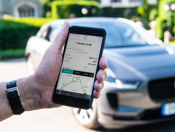 Jaguar I-Pace: una app per gestire l'autonomia