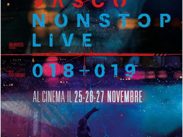 Vasco Rossi con il suo concerto arriva nei cinema per tre giorni