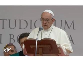 Papa a Bologna: sogno un'Europa universitaria strumento di pace e speranza