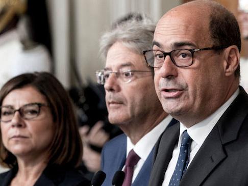 """Il PD si spacca: renziani """"sconcertati"""" da tre proposte di Zingaretti al M5S"""