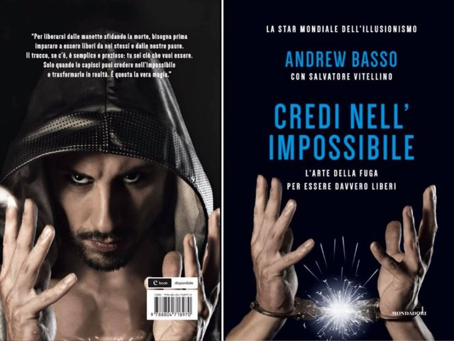 «Credi nell'impossibile», ecco l'autobiografia di Andrew Basso da Borgo Valsugana a Las Vegas