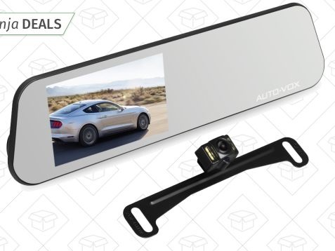 This $82 Gadget Is a Backup Camera and a Dual Lens Dash Cam