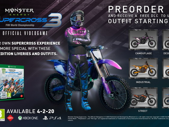 MONSTER ENERGY SUPERCROSS – THE OFFICIAL VIDEOGAME 3 – La nuova fisica si mostra in un Trailer