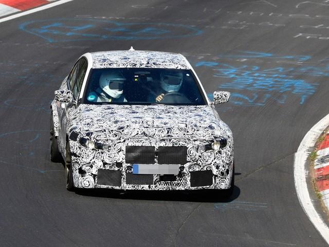 BMW M3 - Test al Nürburgring prima del debutto