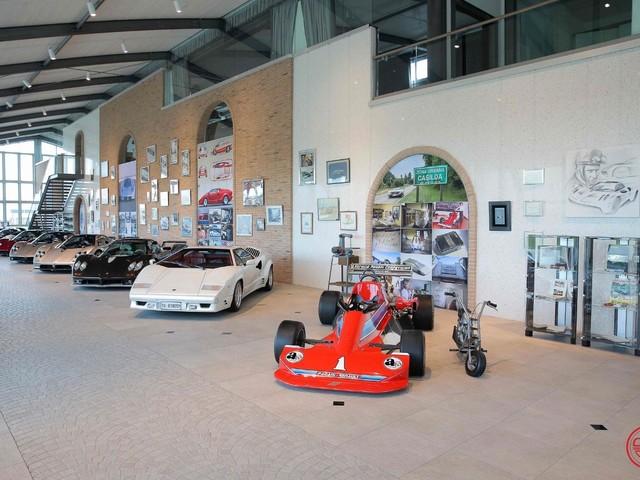 Museo Pagani - Tutte le auto di Horacio - FOTO GALLERY