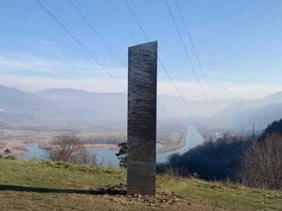 Dopo la scomparsa del Monolite nello UTAH, un altro Monolite compare in Romania