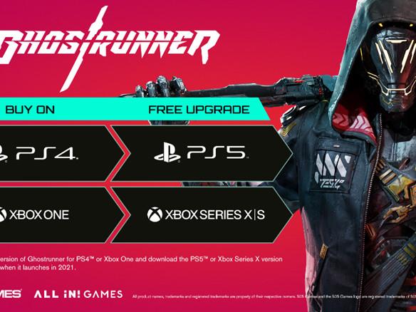 Ghostrunner uscirà anche su PlayStation 5 e Xbox Series. UPGRADE GRATUITO nel 2021 per i possessori della versione PS4 o Xbox One!